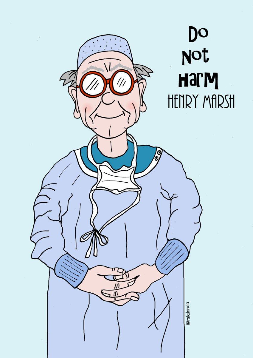 Henry Marsh dibujo