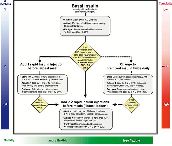 Inicio y ajuste de dosis de insulina en el paciente con diabetes ...