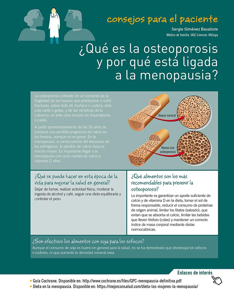 recomendaciones nutricionales para la osteoporosis
