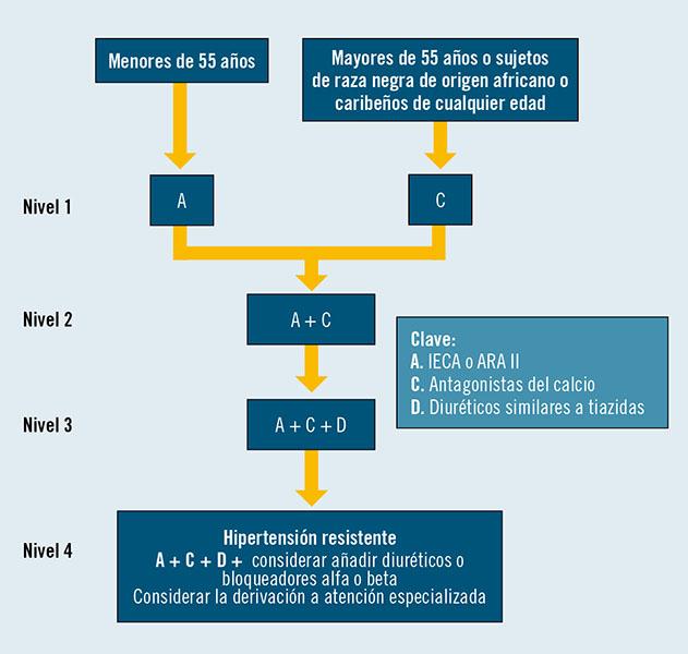 Tratamiento de microalbuminuria hipertensión en africanos